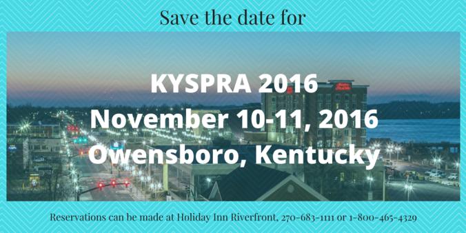 KYSPRAFallConference2016